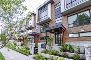 "Main Photo: 2 856 ORWELL Street in North Vancouver: Lynnmour Townhouse for sale in ""CONTINUUM AT NATURE'S EDGE"" : MLS®# R2467194"