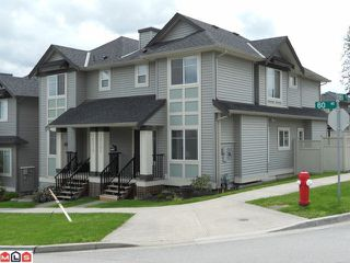 "Photo 1: 16506 60TH Avenue in Surrey: Cloverdale BC House 1/2 Duplex for sale in ""CONCERTO"" (Cloverdale)  : MLS®# F1113657"