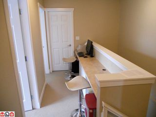 "Photo 9: 16506 60TH Avenue in Surrey: Cloverdale BC House 1/2 Duplex for sale in ""CONCERTO"" (Cloverdale)  : MLS®# F1113657"