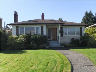 Photo 1: 3329 TRUTCH ST in Vancouver: Arbutus House for sale (Vancouver West)  : MLS®# V1032684