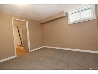 Photo 16: 1152 Garfield Street in WINNIPEG: West End / Wolseley Residential for sale (West Winnipeg)  : MLS®# 1408352