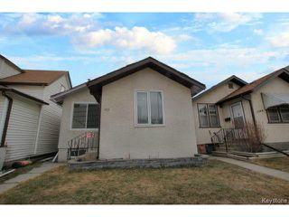 Photo 1: 1152 Garfield Street in WINNIPEG: West End / Wolseley Residential for sale (West Winnipeg)  : MLS®# 1408352