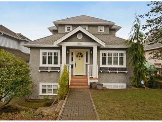 "Photo 1: 815 W 23RD Avenue in Vancouver: Cambie House for sale in ""DOUGLAS PARK"" (Vancouver West)  : MLS®# V1061241"