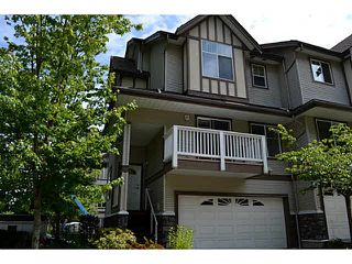 "Photo 1: 33 15133 29A Avenue in Surrey: King George Corridor Townhouse for sale in ""STONEWOODS"" (South Surrey White Rock)  : MLS®# F1413560"