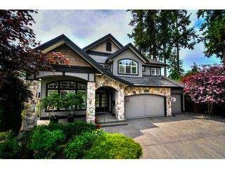 "Photo 1: 3233 141A Street in Surrey: Elgin Chantrell House for sale in ""Estates at Elgin"" (South Surrey White Rock)  : MLS®# F1442076"