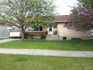 Photo 1: 531 Raquette Street in WINNIPEG: Westwood / Crestview Residential for sale (West Winnipeg)  : MLS®# 1514397