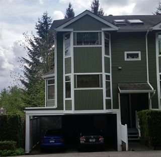 """Photo 1: 8640 CINNAMON Drive in Burnaby: Forest Hills BN Townhouse for sale in """"MOUNTAINSIDE VILLAGE"""" (Burnaby North)  : MLS®# R2063435"""
