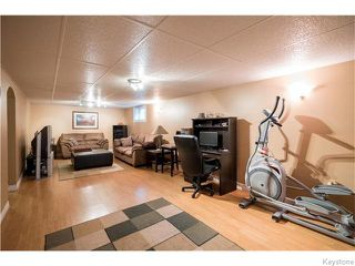 Photo 15: 39 Hobart Place in Winnipeg: St Vital Residential for sale (South East Winnipeg)  : MLS®# 1617792