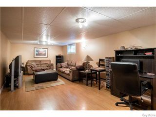 Photo 14: 39 Hobart Place in Winnipeg: St Vital Residential for sale (South East Winnipeg)  : MLS®# 1617792