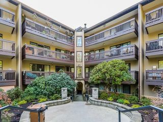 "Photo 1: 316 9847 MANCHESTER Drive in Burnaby: Cariboo Condo for sale in ""Barclay Woods"" (Burnaby North)  : MLS®# R2174146"