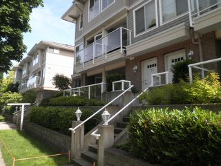 Photo 1: 102 2432 WELCHER Avenue in Port Coquitlam: Central Pt Coquitlam Townhouse for sale : MLS®# R2179694