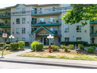 "Main Photo: 110 2435 CENTER Street in Abbotsford: Abbotsford West Condo for sale in ""Cedar Grove Place"" : MLS®# R2186088"