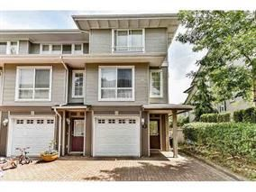 "Photo 1: 7 8778 159 Street in Surrey: Fleetwood Tynehead Townhouse for sale in ""AMBERSTONE"" : MLS®# R2205947"