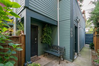 Photo 23: 849 KEEFER STREET in Vancouver: Mount Pleasant VE Townhouse for sale (Vancouver East)  : MLS®# R2204383