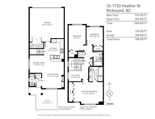 "Photo 20: 35 7733 HEATHER Street in Richmond: McLennan North Townhouse for sale in ""HEARTHSTONE"" : MLS®# R2258011"