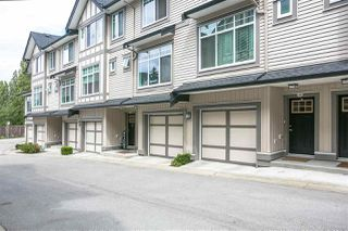 "Photo 1: 35 7090 180 Street in Surrey: Cloverdale BC Townhouse for sale in ""CROSSROADS"" (Cloverdale)  : MLS®# R2306037"