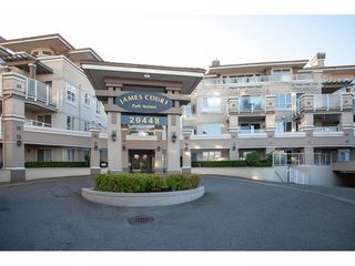 """Photo 1: 205 20448 PARK Avenue in Langley: Langley City Condo for sale in """"James Court"""" : MLS®# R2321619"""