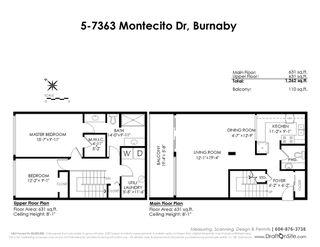 """Photo 4: 5 7363 MONTECITO Drive in Burnaby: Montecito Townhouse for sale in """"VILLA MONTECITO"""" (Burnaby North)  : MLS®# R2384488"""