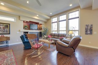 Photo 3: 5 841 156 Street in Edmonton: Zone 14 House Half Duplex for sale : MLS®# E4163761