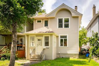 Photo 1: 126 Chestnut Street in Winnipeg: Wolseley Residential for sale (5B)  : MLS®# 202015380