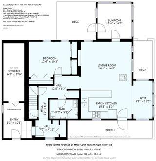 Photo 49: 52222 RR 105: Rural Minburn County House for sale : MLS®# E4213070