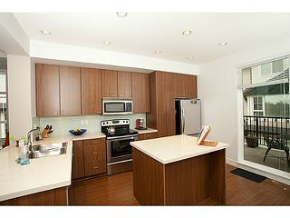 """Photo 2: 58 2450 161A Street in SURREY: Grandview Surrey Townhouse for sale in """"Glenmore"""" (South Surrey White Rock)  : MLS®# F1323418"""
