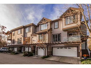 "Photo 1: # 28 15133 29A AV in Surrey: King George Corridor Townhouse for sale in ""STONEWOODS"" (South Surrey White Rock)  : MLS®# F1325375"