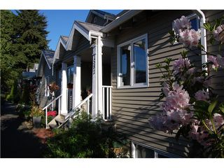 "Main Photo: 1582 BOWSER Avenue in North Vancouver: Norgate Townhouse for sale in ""ILLAHEE"" : MLS®# V1067425"