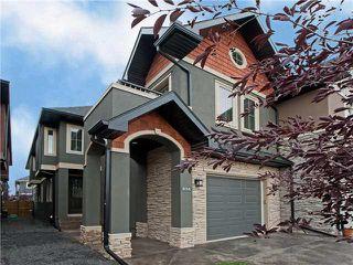 Main Photo: 63 7 Street NE in Calgary: Bridgeland Residential Attached for sale : MLS®# C3635540