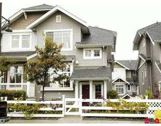 """Main Photo: 53 16760 61ST AV in Surrey: Cloverdale BC Townhouse for sale in """"Harvest Landing"""" (Cloverdale)  : MLS®# F2620821"""