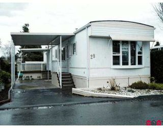 "Photo 1: 15875 20TH Ave in White Rock: King George Corridor Manufactured Home for sale in ""SEARIDGE BAYS"" (South Surrey White Rock)  : MLS®# F2625048"
