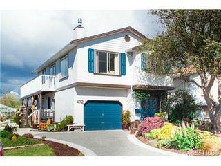 Photo 1: 472 Kinver St in VICTORIA: Es Saxe Point Half Duplex for sale (Esquimalt)  : MLS®# 729276