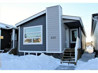 Photo 1: 522 Ferry Road in Winnipeg: St James Residential for sale (5E)  : MLS®# 1700403
