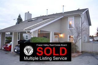Photo 1: 2 33917 MARSHALL Road in Abbotsford: Central Abbotsford Townhouse for sale : MLS®# R2145423