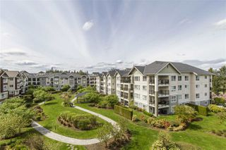 "Photo 1: 428 19677 MEADOW GARDENS Way in Pitt Meadows: North Meadows PI Condo for sale in ""THE FAIRWAYS"" : MLS®# R2161667"