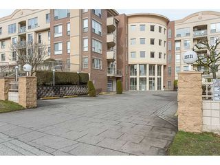 "Photo 1: 207 33731 MARSHALL Road in Abbotsford: Central Abbotsford Condo for sale in ""STEPHANIE PLACE"" : MLS®# R2162210"