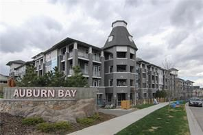 Main Photo: 126 25 Auburn Meadows Avenue SE in Calgary: Auburn Bay Apartment for sale : MLS®# c4136122