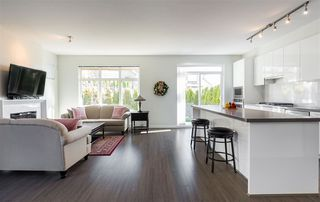 Photo 2: 52 3400 DEVONSHIRE AVENUE in Coquitlam: Burke Mountain Townhouse for sale : MLS®# R2246471