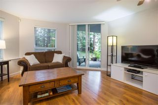 "Photo 3: 101 8430 JELLICOE Street in Vancouver: Fraserview VE Condo for sale in ""The Boardwalk"" (Vancouver East)  : MLS®# R2259297"
