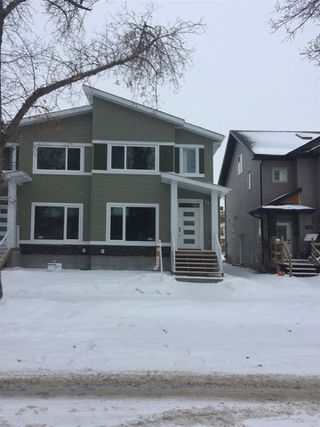 Main Photo: 12820 68 Street NW in Edmonton: Zone 02 House Half Duplex for sale : MLS®# E4139686