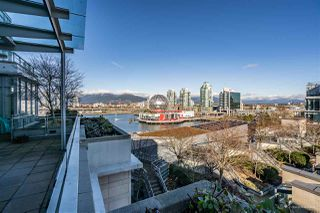 "Photo 19: 801 77 WALTER HARDWICK Avenue in Vancouver: False Creek Condo for sale in ""KAYAK"" (Vancouver West)  : MLS®# R2343982"