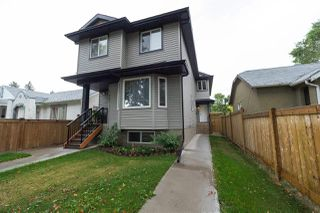 Main Photo: 11439 101 Street in Edmonton: Zone 08 House Half Duplex for sale : MLS®# E4146789