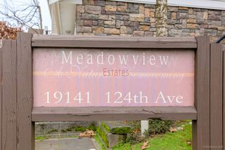 """Photo 20: 21 19141 124 Avenue in Pitt Meadows: Mid Meadows Townhouse for sale in """"MEADOWVIEW ESTATES"""" : MLS®# R2362595"""