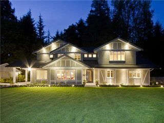 Photo 1: 375 MULGRAVE Place in West Vancouver: Home for sale : MLS®# V990763