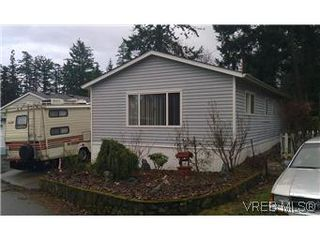 Photo 1: 25 1215 Craigflower Road in VICTORIA: VR Glentana Manu Double-Wide for sale (View Royal)  : MLS®# 290811