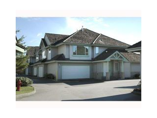 "Photo 1: 43 1255 RIVERSIDE Drive in Port Coquitlam: Riverwood Townhouse for sale in ""RIVERWOOD GREEN"" : MLS®# V901232"