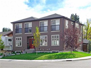 Main Photo: 601 23 Avenue NE in CALGARY: Winston Heights_Mountview Residential Attached for sale (Calgary)  : MLS®# C3587799