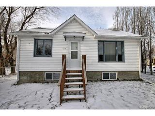 Photo 1: 514 Sabourin Street in STPIERRE: Manitoba Other Residential for sale : MLS®# 1502873