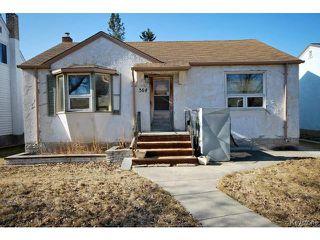 Photo 1: 364 Kimberly Avenue in WINNIPEG: East Kildonan Residential for sale (North East Winnipeg)  : MLS®# 1509655