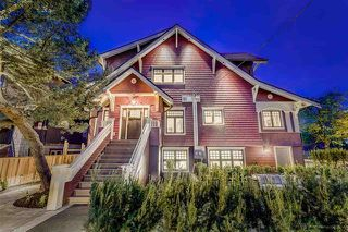 Photo 1: 3303 W 7TH Avenue in Vancouver: Kitsilano House 1/2 Duplex for sale (Vancouver West)  : MLS®# R2175608